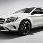 новый кроссовер Mercedes GLA 2014