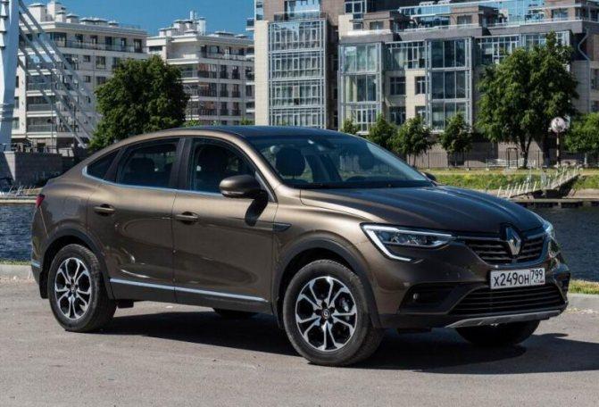 Новый Renault Arkana 2019: фото и цена, характеристики кроссовера