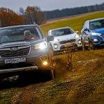 Новый Subaru Forester против конкурентов: большой тест кроссоверов