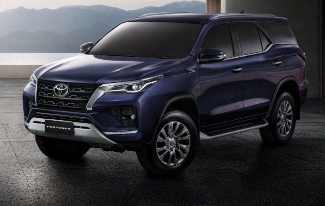 Новый Toyota Fortuner 2021 ждем уже в этом году