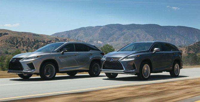 Обновленный кроссовер Lexus RX 2019-2020