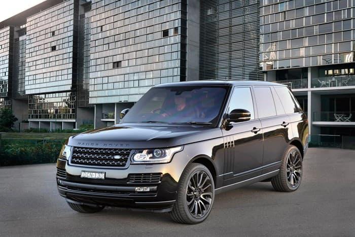 Обновленный Range Rover Vogue 2018