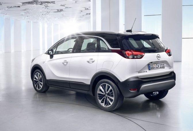 Opel Crossland X 2020 представлен официально