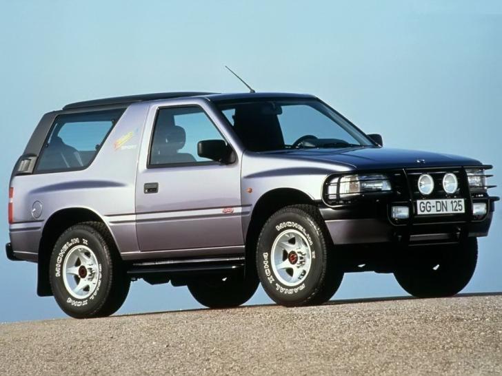 Opel Frontera первое поколение 3 дв.