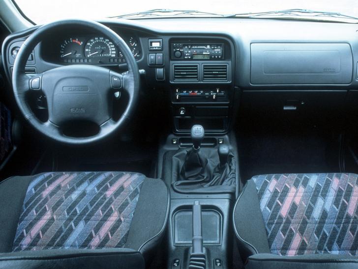 Opel Frontera первое поколение салон