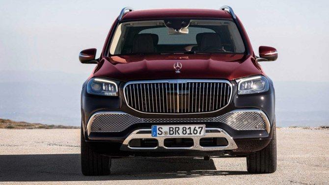 Показали новый шикарный внедорожник Mercedes-Maybach GLS