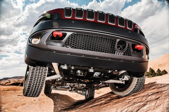 Полный привод Jeep Cherokee