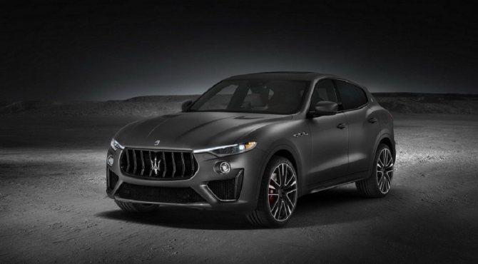 Представлен кроссовер Maserati Levante Trofeo