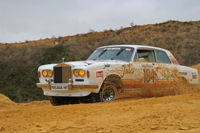 Rolls-Royce Corniche I Coupe Jules для ралли Париж-Дакар