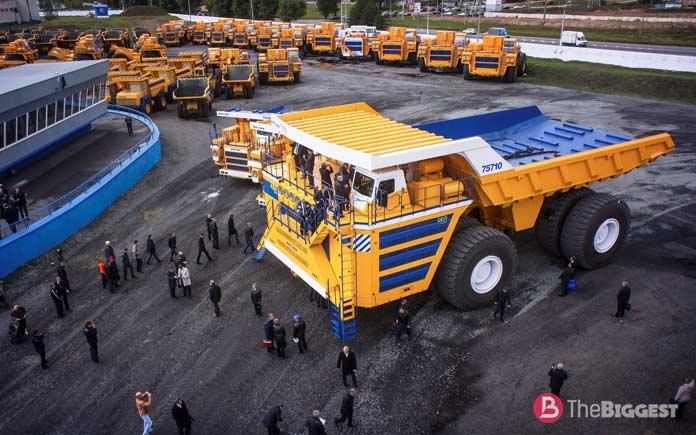Самые большие машины планеты: БелАЗ 75710