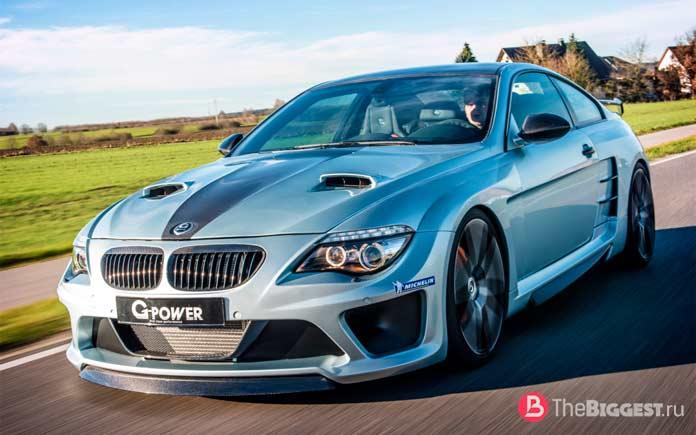 Самые дорогие BMW в мире: M6 G-Power Hurricane CS