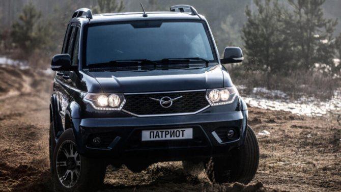 Самый дешевый внедорожник российского производства - УАЗ Патриот I
