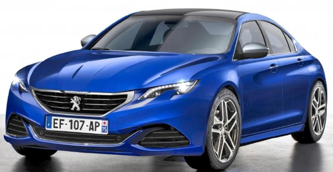 Седаны 2020 года - новая модель Пежо 408