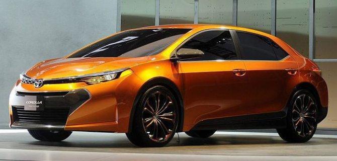 Седаны 2020 года - новая модель Тойота Королла