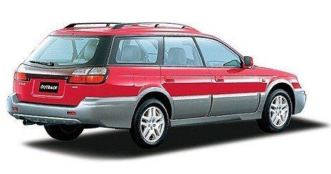 Subaru Outback представляет собой внедоро