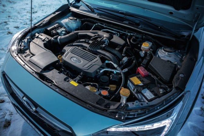 Subaru XV - 2020 - двигатель