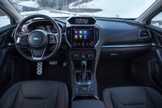 Subaru XV - 2020 - салон