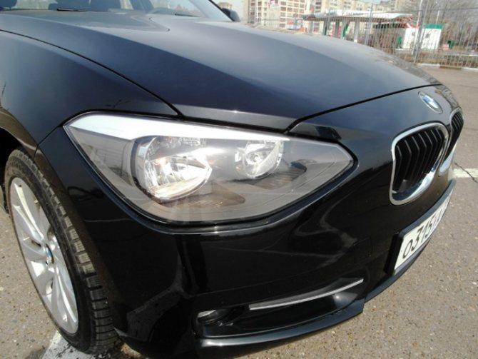 тест-драйв BMW 1-серии