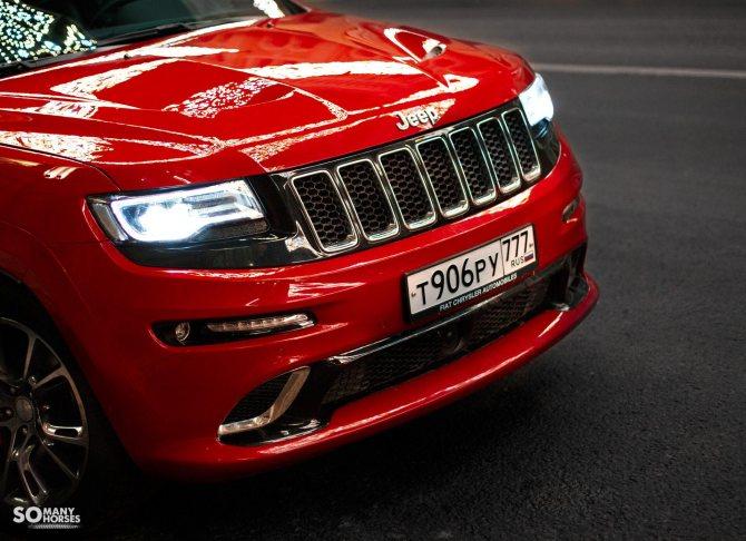 Тест-драйв Jeep Grand Cherokee SRT8 2020 года