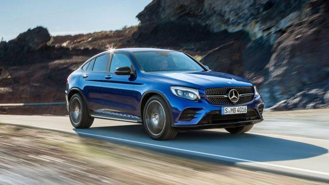 Тест-драйв: Mercedes GLC Coupe