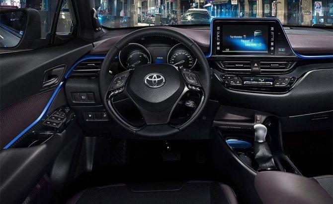 Тойота C-HR 2020 новая