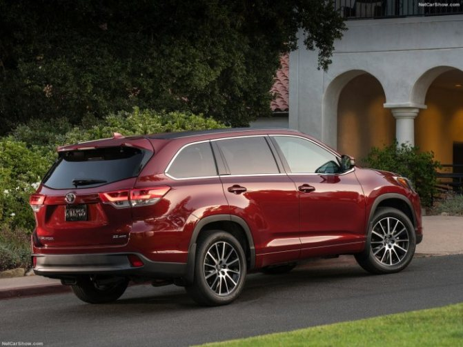 Тойота Хайлендер 2020 - комплектации, цены, фото и характеристики