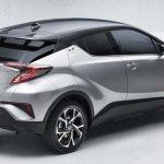 Toyota C-HR 2016: технические характеристики, фото