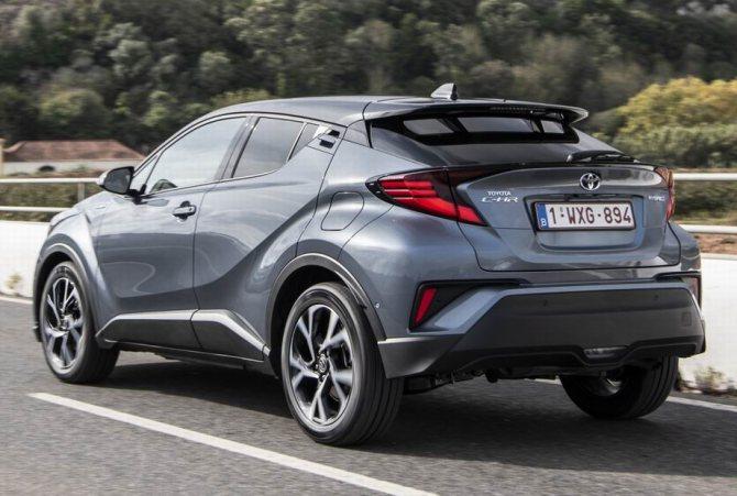 Toyota C-HR 2020 года