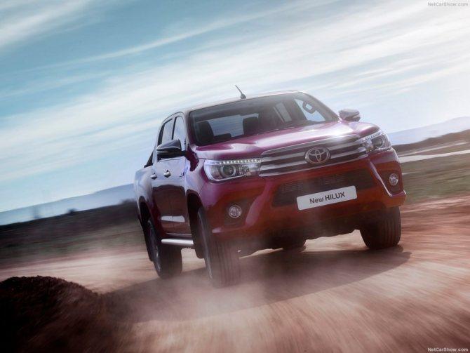 Toyota Hilux 2018 модельного года: цены, комплектации, фото и характеристики