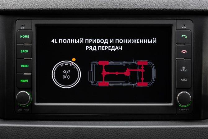 УАЗ Патриот с автоматом