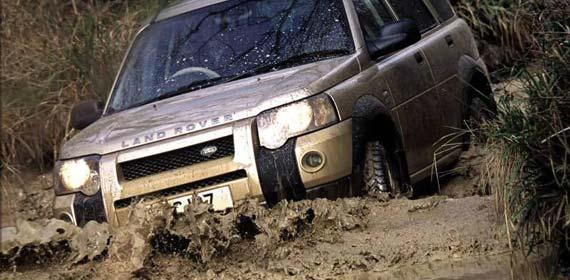 Внедорожники до 500 тысяч рублей - Land Rover Freelander