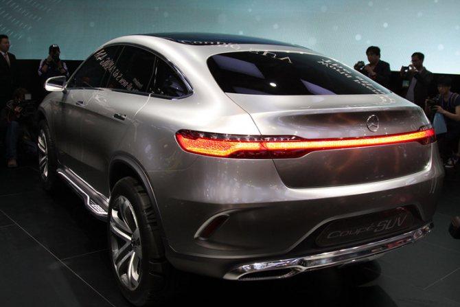 Внедорожники от Mercedes:будет и купе - Фото 2