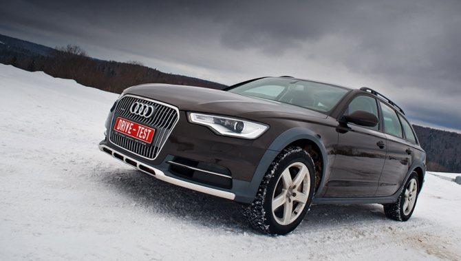 Внешность Audi А6 Allroad Quattro