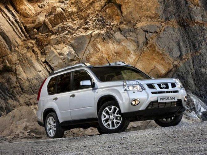 Внешность Nissan X-Trail