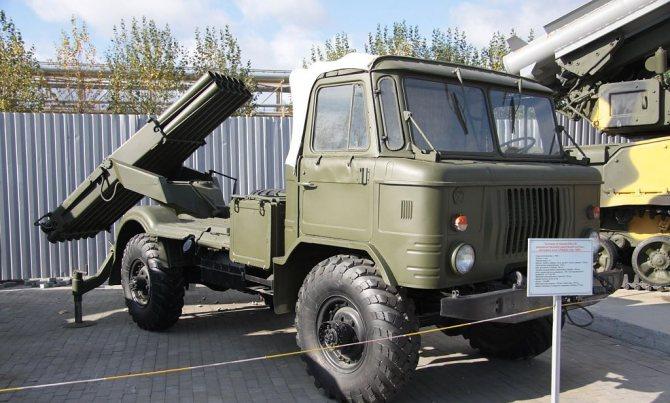 Военный автомобиль ГАЗ-66