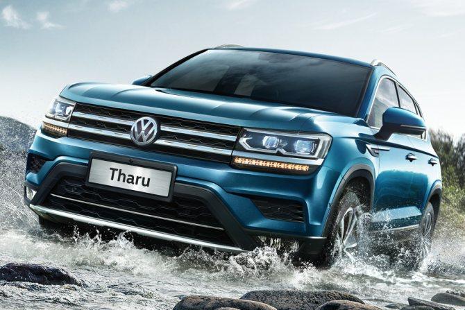 'Volkswagen Tarek 2020 года - стильный кроссовер с турбомоторами, который