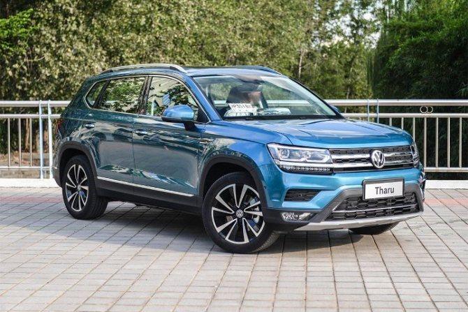 Volkswagen Tharu - вид спереди