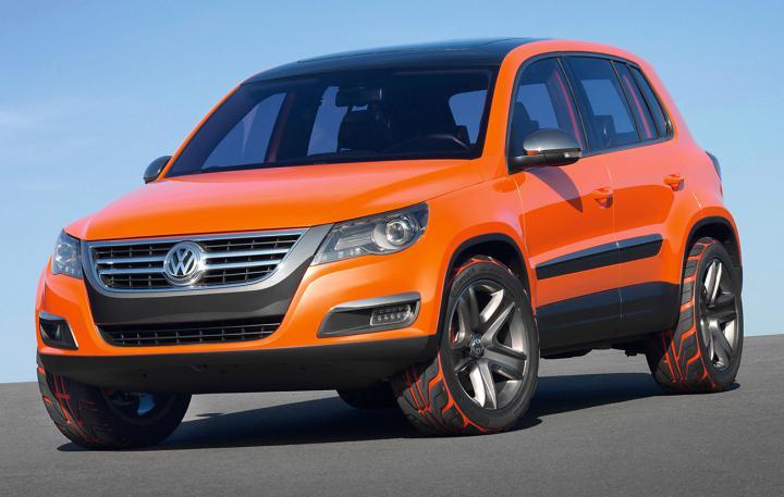 VW Tiguan 2011 – 2015 года