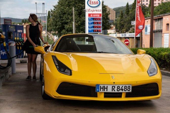желтый практичный цвет авто